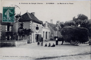 Place St Romain et Mairie