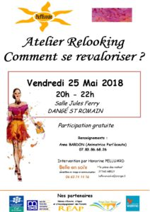 ATELIER RELOOKING - 25/05 - PARL'ECOUTE @ SALLE JULES FERRY