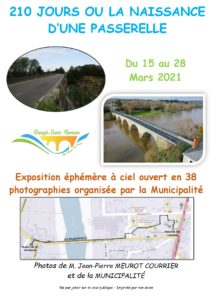 EXPOSITION EN 38 PHOTOS À CIEL - LE 03/04 - MAIRIE @ CENTRE BOURG